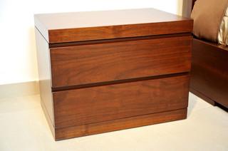 anna night stand small moderne table de chevet et table de nuit. Black Bedroom Furniture Sets. Home Design Ideas