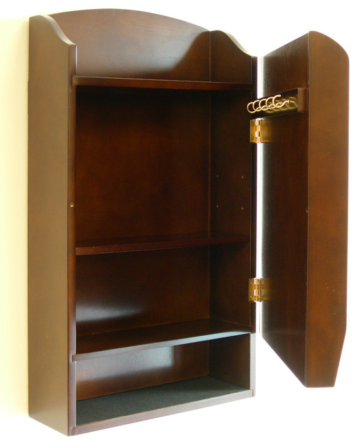 Door Entry Mail Organizer and Key Holder - Transitional - Magazine Racks - by Proman Products