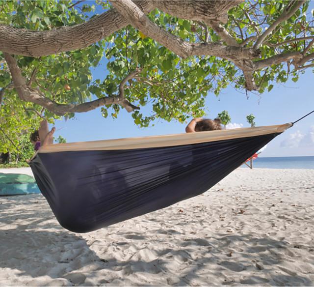 Sailor double travel hammock - Hamacas dobles ...