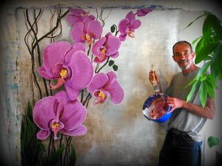 Original large size paintings available asiatisch for Gartenmobel asiatisch