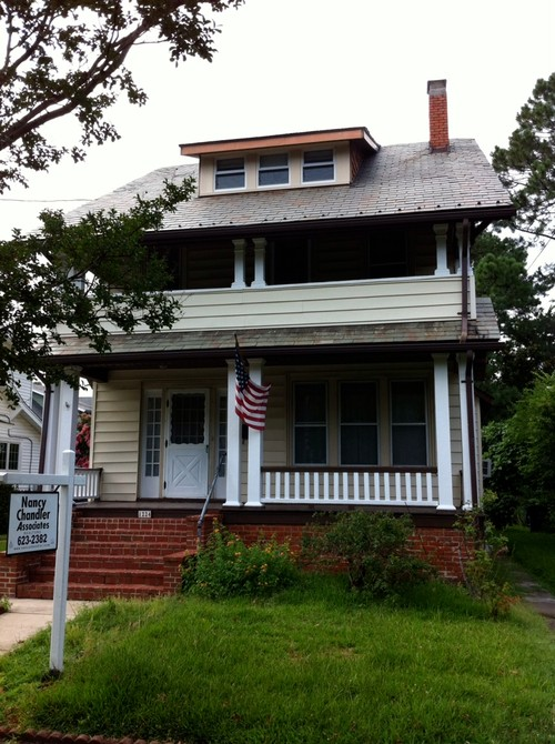 Exterior 1910 House