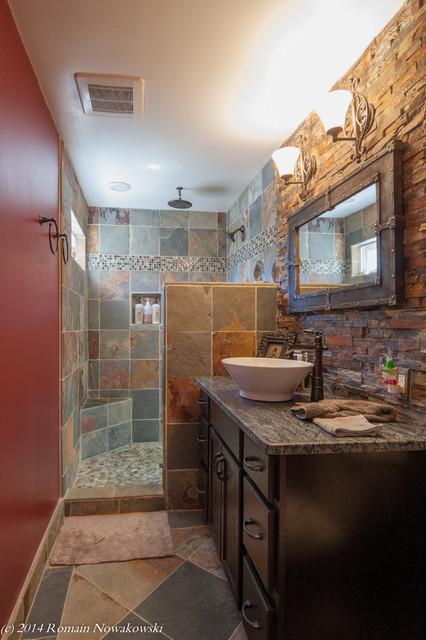 Bjoring Residential Renovation Rustic Bathroom Dc