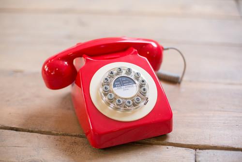 Phone Box Red Retro Telephone