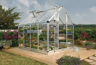 Palram Silver Snap and Grow Greenhouse (6 x 8) - Contemporary ...