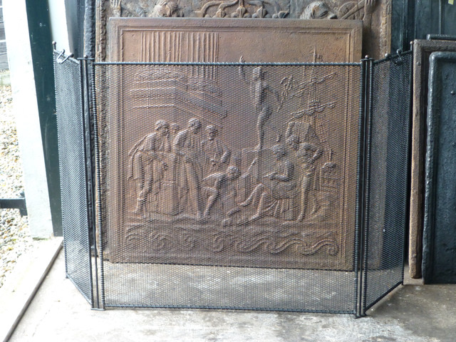 Antique Fireplace Screens Traditional Fireplace Screens Other Metro By Charles Nijman