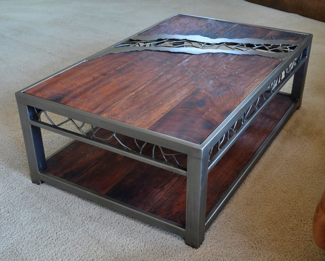 Distressed Wood Coffee Table Coffee Tables Omaha By