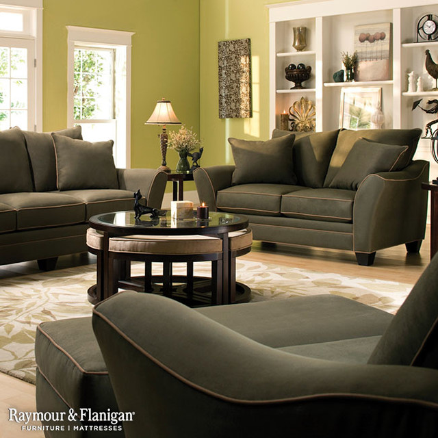 Briarwood Microfiber Collection Living Room Other By Raymour Flan