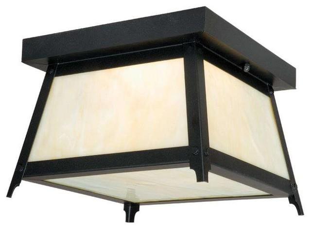 Craftsman outdoor ceiling lights : Vaxcel lighting t prairieview outdoor ceiling light
