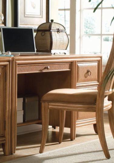 American drew 931 940 desk antigua traditional desks - Home office furniture atlanta ...