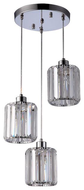 Dima 3 Bulb Pendant Light