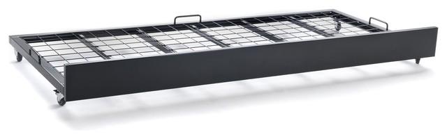 lofter tiroir de lit pour matelas 90x200cm industriel bac et bo te de rangement par alin a. Black Bedroom Furniture Sets. Home Design Ideas