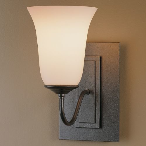 Wall Sconces Lumens : Traditional Single Light Wall Sconce - Steel by Hubbardton Forge - Modern - Wall Lighting - by ...