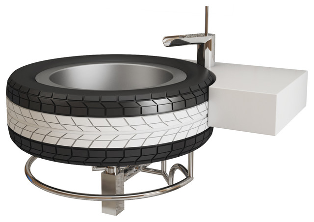 Mac Recycled Tyre Wash Basin From Qs Supplies