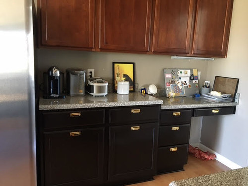 Need Help To Convert Kitchen Desk To Counter