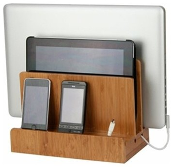 Bamboo Multi Charging Station