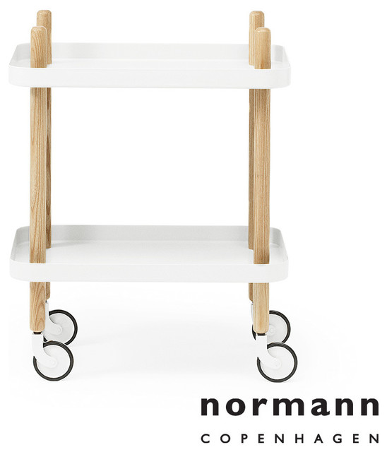 normann copenhagen block table white modern side tables and accent tables los angeles by. Black Bedroom Furniture Sets. Home Design Ideas