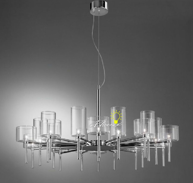 Modern Cleat Glass Pendant Lighting