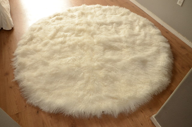 White Round Rugs Uk Area