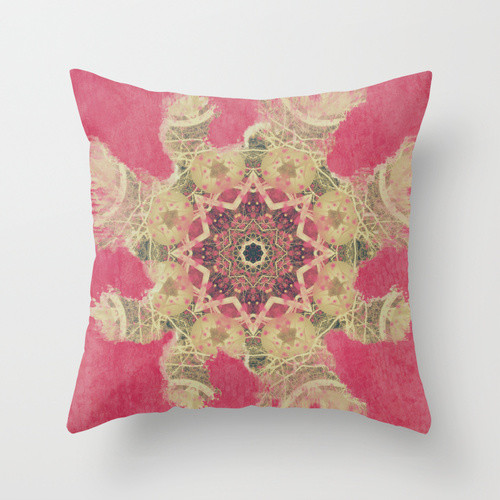 Throw Pillow Inserts 20 X 20 : MANDALA APPRAISAL THROW PILLOW / INDOOR COVER (20