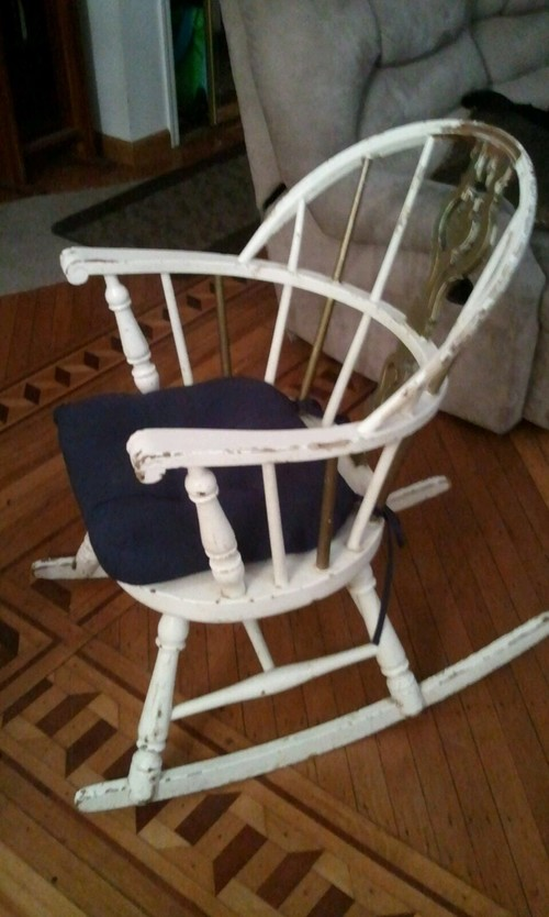 How should i refinish this chair for Home design 9358