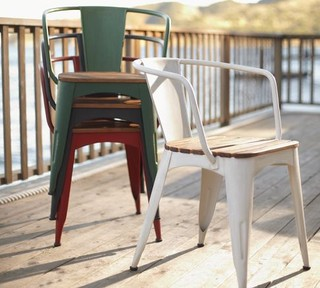 armchair traditional outdoor dining chairs by pottery barn