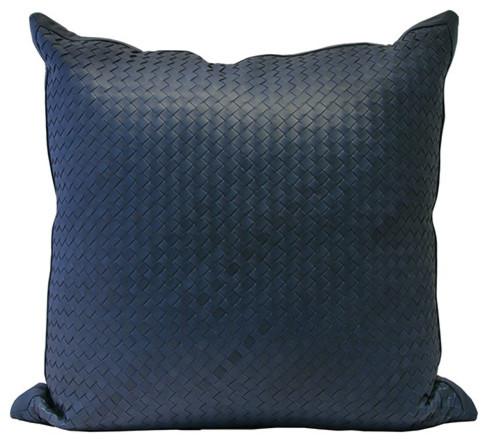 Decorative Denim Pillows : Watercolor Pillow in Denim