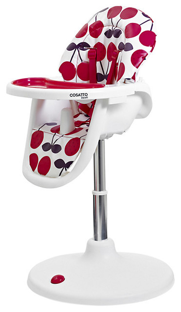 Cosatto 3sixti Circle Highchair Cherry Pop Contemporary