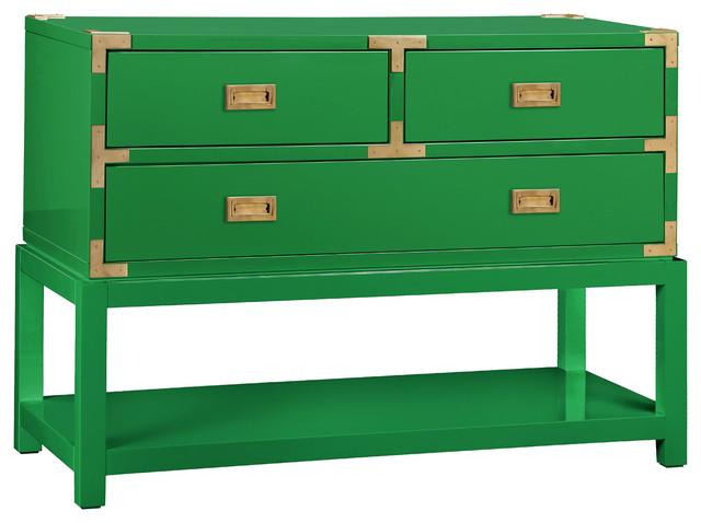 Bungalow 5 Tansu Console Green Modern Furniture