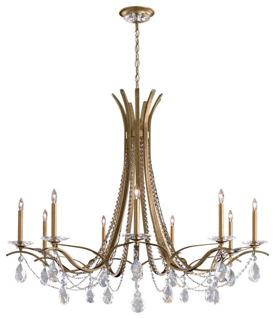 Schonbek Vesca Chandelier: Schonbek Lighting VA8339N-22A Vesca Chandelier
