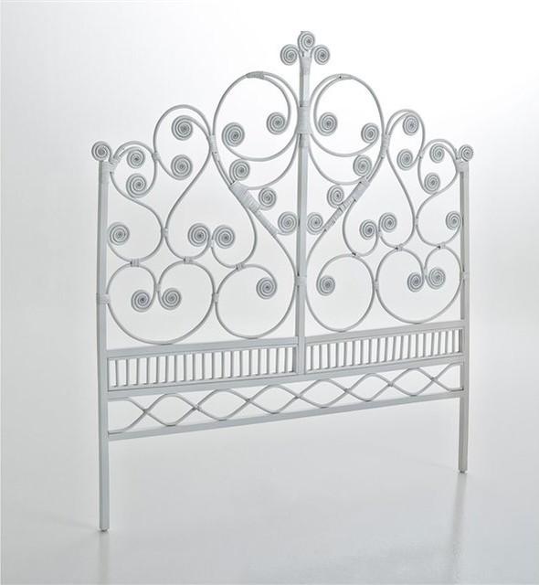 t te de lit rotin tio contemporain t te de lit par la redoute int rieurs. Black Bedroom Furniture Sets. Home Design Ideas