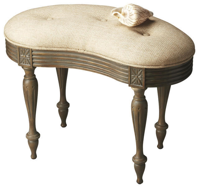 Butler Vanity Stool Traditional Vanity Stools And