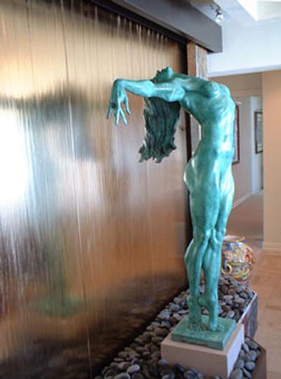 Indoor custom water features   fontane per interni   indianapolis ...