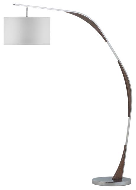 serpentine arc lamp modern floor lamps by nova of california. Black Bedroom Furniture Sets. Home Design Ideas
