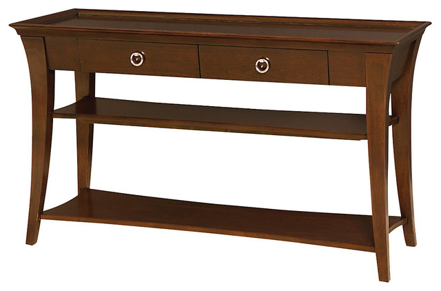 Umbria Foyer Table : Umbria sofa table transitional console tables by