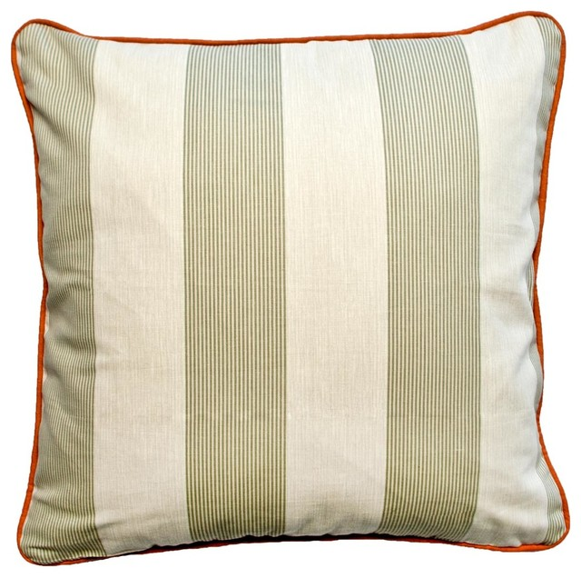 Beach Style Outdoor Cushions : Belle Isle Euro Sham - Beach Style - Outdoor Cushions And Pillows - by Silverado Home