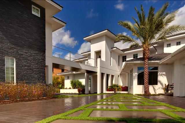Stunning contemporary in orlando windermere orlando for New modern homes orlando
