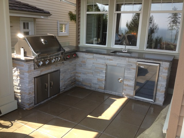 Custom BBQ Islands from Manufacturer - Outdoor Grills - Vancouver - by Springline Designs