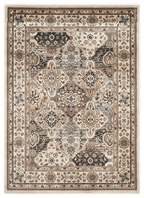 Safavieh simone woven rug multi and ivory 4 39 x5 39 7 area for Decor international handwoven rugs