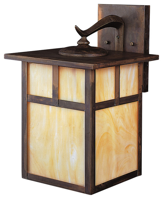 Kichler Lighting 9652CV Alameda Arts And Crafts Mission Outdoor Wall Light