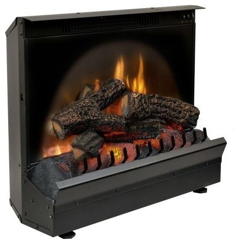 Standard electric fireplace insert log set 23 contemporary indoor fireplaces by shop - Contemporary electric fireplace insert accessories ...