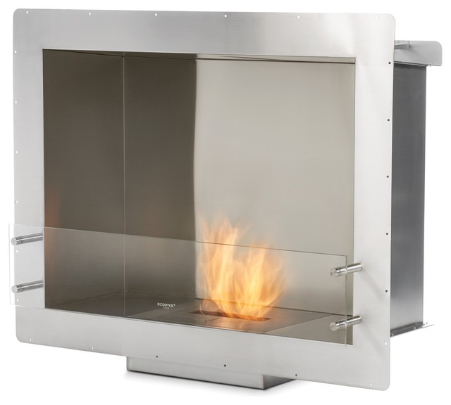 ecosmart fire firebox 900ss modern indoor fireplaces. Black Bedroom Furniture Sets. Home Design Ideas