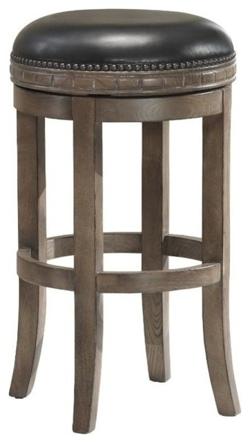 American Heritage Sonoma Collection Barstool In Weathered Oak Contemporary
