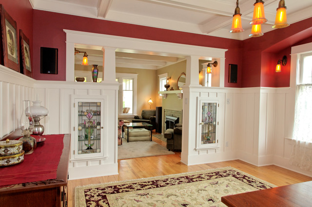 New Colonnade With China Cabinets Craftsman Dining