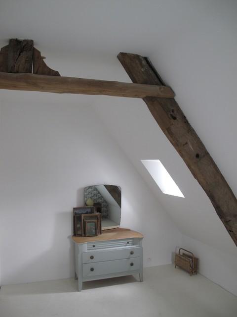 ... XVIeme - aménagement et décoration intérieure eclectique-chambre