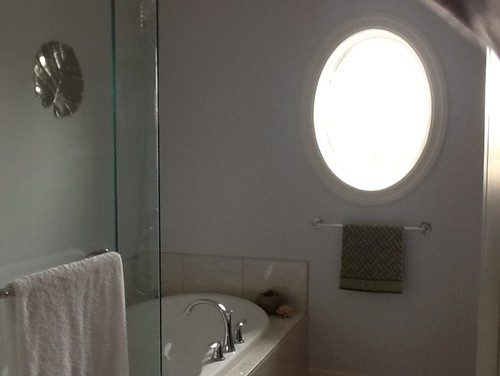 Need suggestions for a privacy solution for the guest for Bathroom window privacy solutions