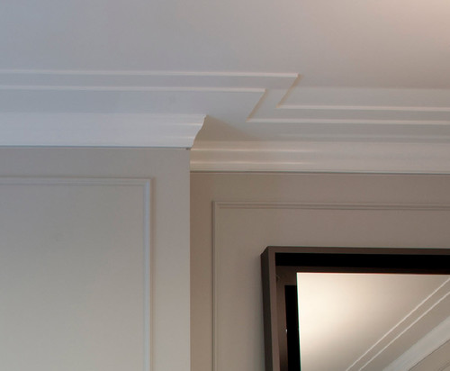 Crown Molding Detail Closeup - Reveal
