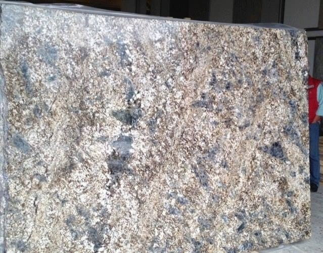 Blue Grey Granite Kitchen Countertops Boston By