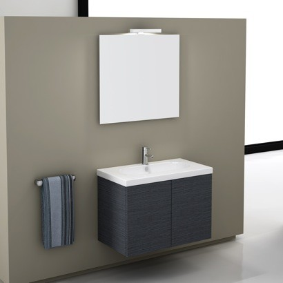 Stylish Italian Made Vanity Set Contemporary Bathroom Vanities And