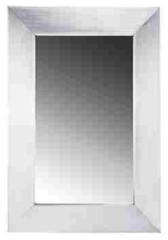 Whitehaus Noah 39 S Collection Framed Mirror Stainless Steel Industrial Bathroom Mirrors By
