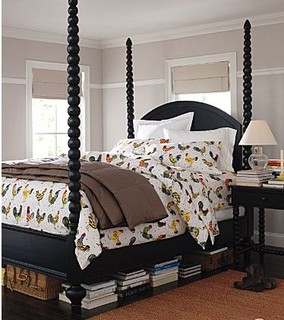 Clarke poster bed traditional four poster beds by for Traditional four poster beds